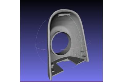 3д модель заглушка для автозамка