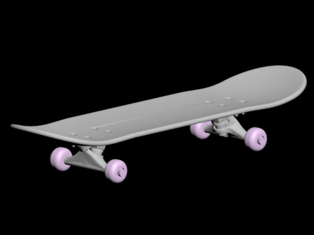 Игрушечный скейт для кукол