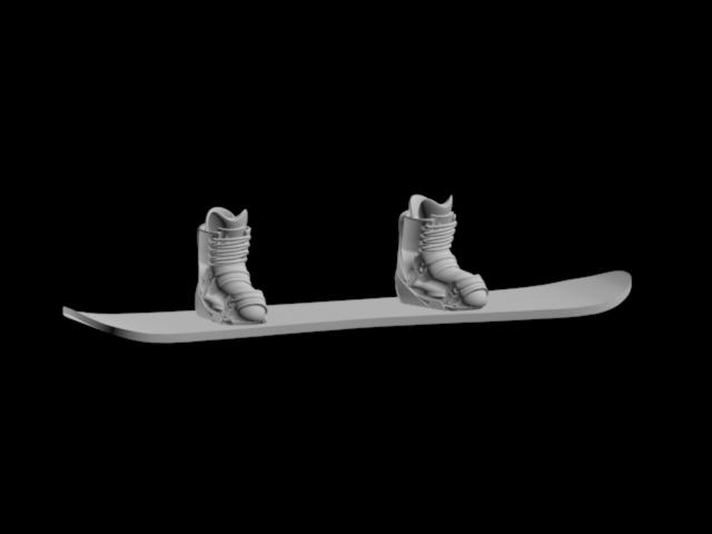 Мини сноуборд